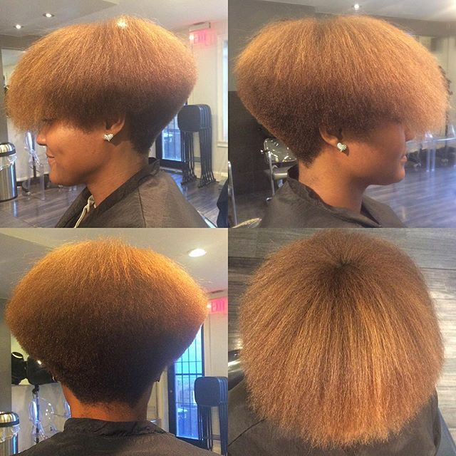 When I say Precision,...I mean Precision. My haircuts can walk straight out the…