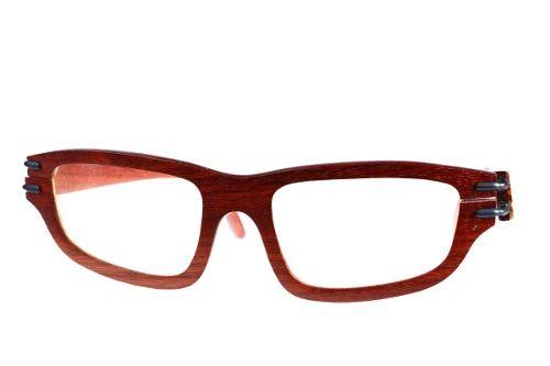 Gafas de sol en madera, filtro UV, marca Maguaco S028. Maderas: Palo Sangre Brasil y Carreto Guajiro. $200.000 COP
