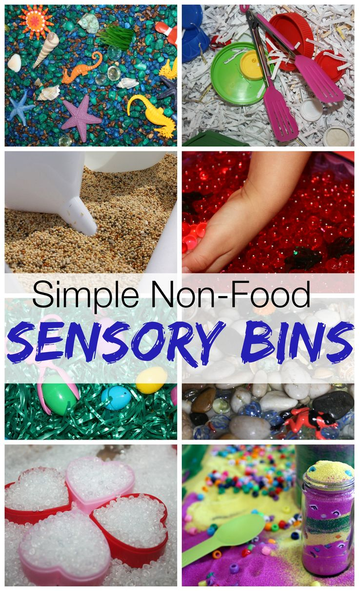 "Must Try Non Food Sensory Bin Fillers from Little Bins for Little Hands ("",)"