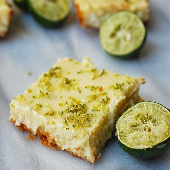 Eva Bakes - Key lime cheesecake bars