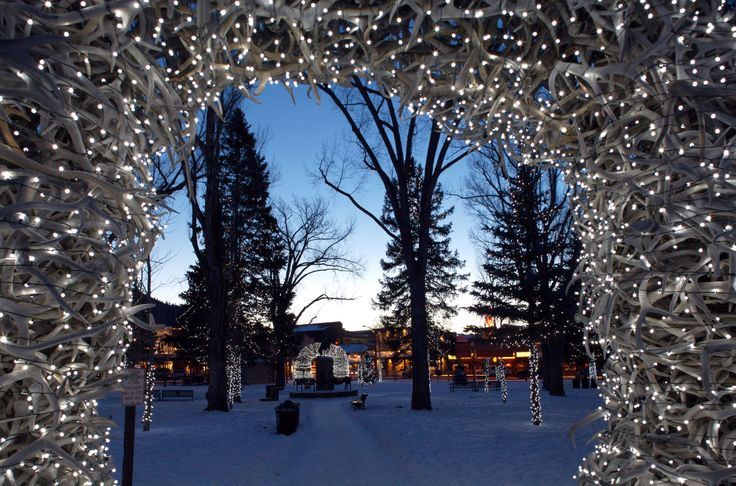America's 20 Best Small Towns for Christmas | Jackson Hole, Wyoming