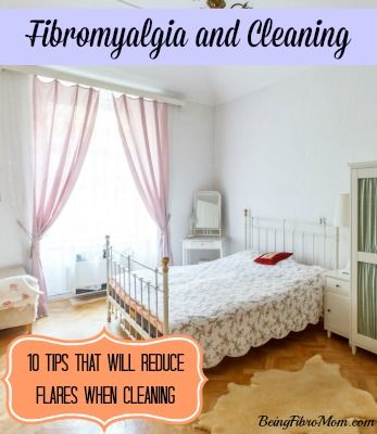 Here are ten tips on fibromyalgia and household chores in order to get your housework done without over extending your body and causing a fibro flare.