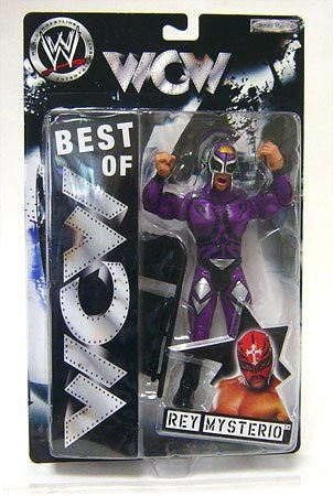 Best of ECW & WCW Wrestling Action Figure Rey Mysterio [Purple Outfit & Mask]
