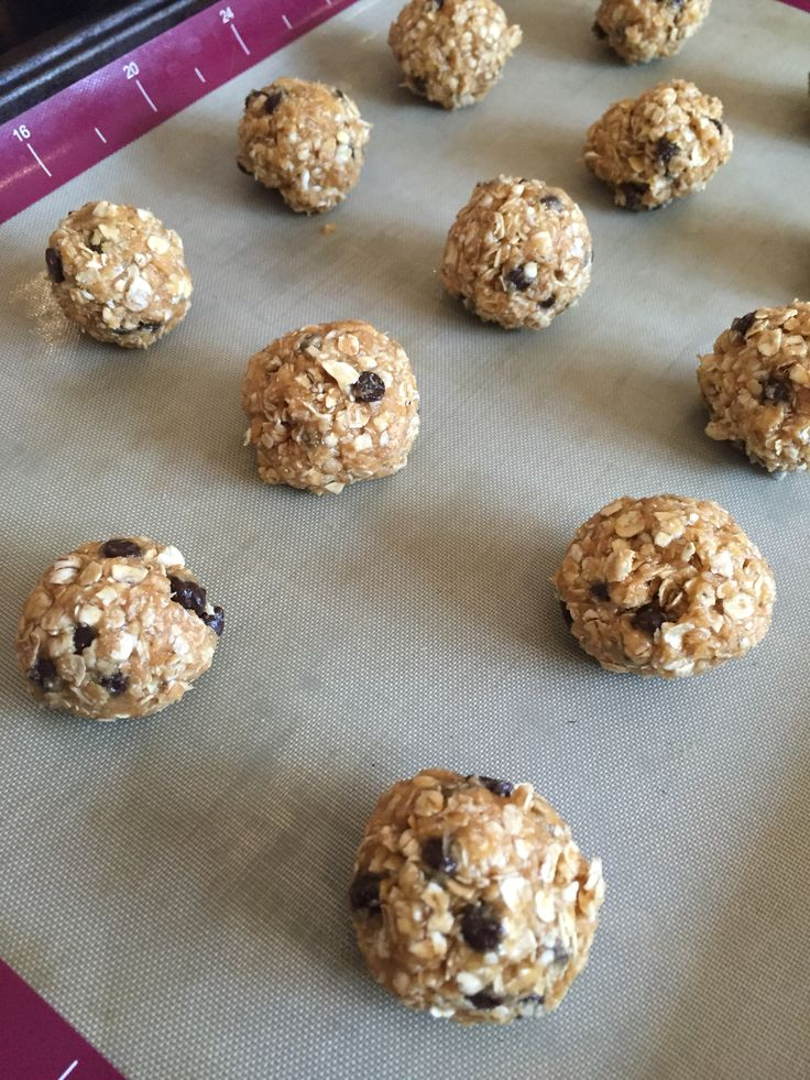snack power oatmeal energy bites - easy recipe and even good to use with and for kids.  Healthy, nutrient-dense, and delicious! goodness gracious living