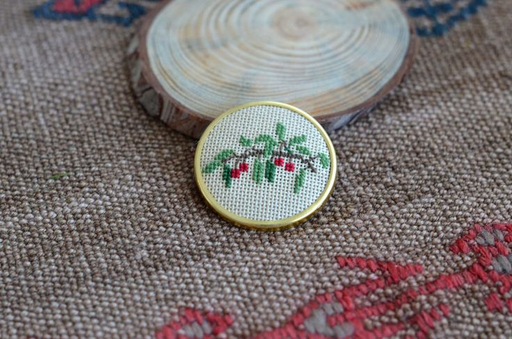 A personal favorite from my Etsy shop https://www.etsy.com/listing/222796812/cherry-tree-brooch