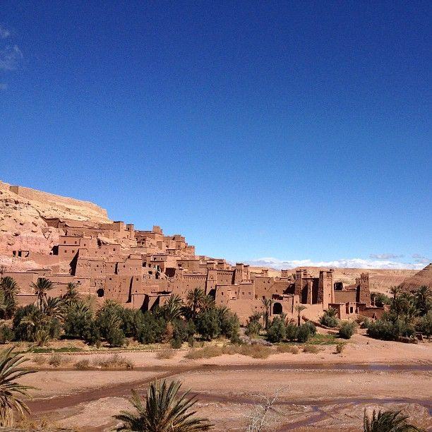 In viaggio verso il deserto: Ait Ben Haddou