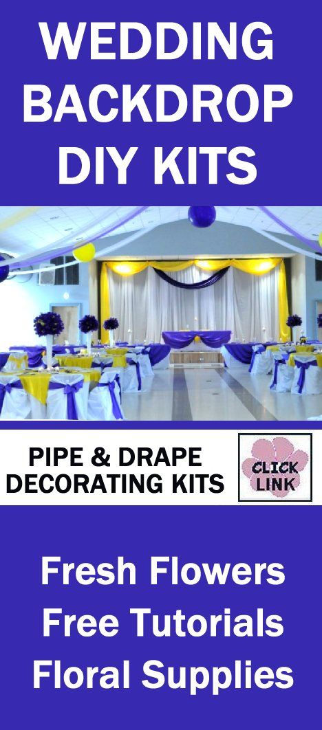 1000 Ideas About Pipe And Drape On Pinterest