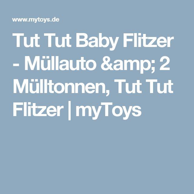 Tut Tut Baby Flitzer - Müllauto & 2 Mülltonnen, Tut Tut Flitzer | myToys