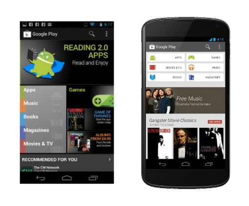 Android app design tips