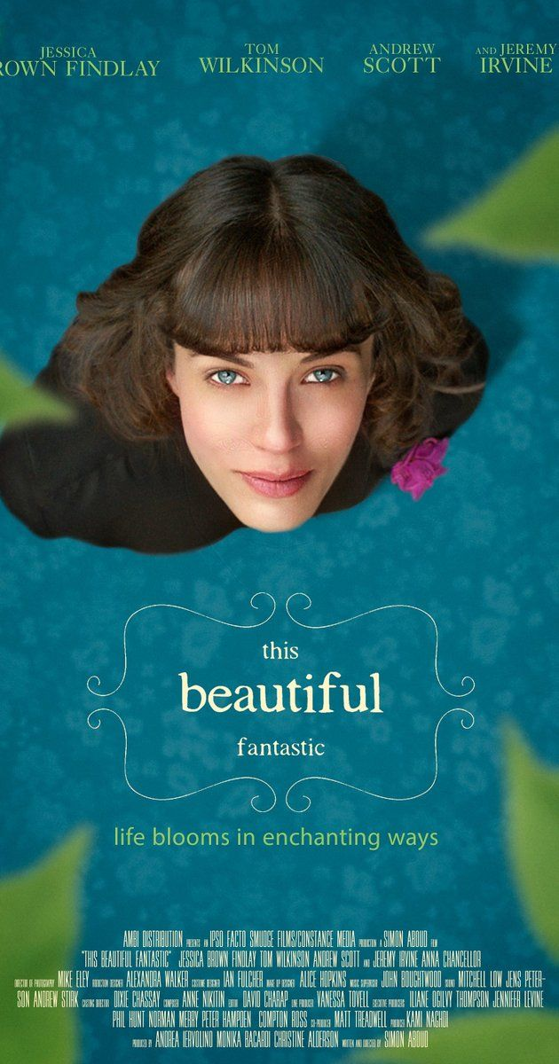 Directed by Simon Aboud.  With Jessica Brown Findlay, Andrew Scott, Jeremy Irvine, Tom Wilkinson. A young woman who dreams of being a children's author makes an unlikely friendship with a cantankerous, rich old widower.