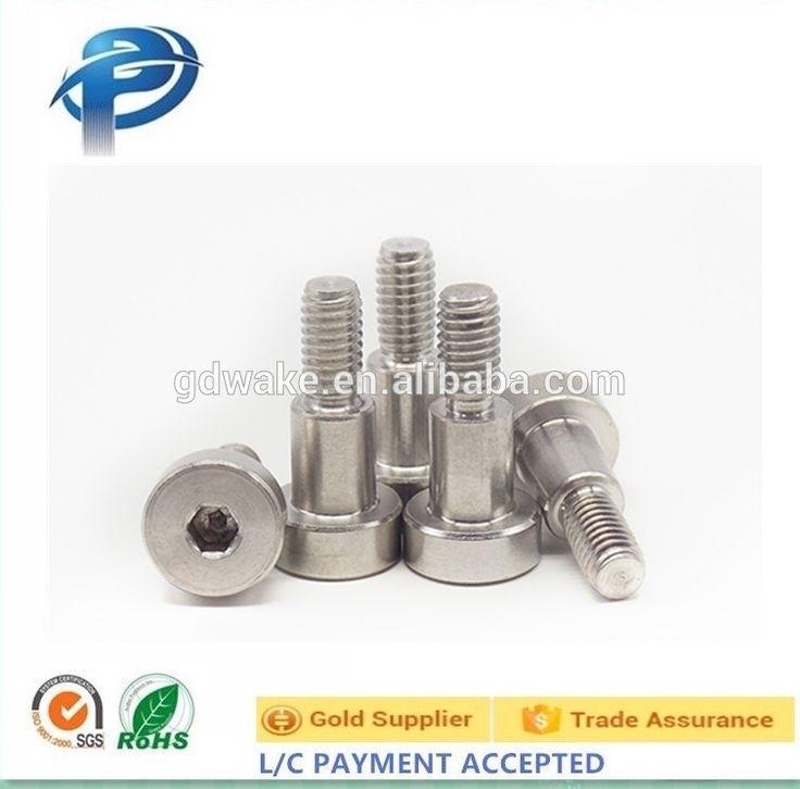 304 stainless steel allen hex socket drive head shoulder screw bolt,flange shoulder bolt,m4 shoulder bolts