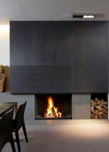 Holzkamin / einbaubar / Geschlossene Feuerstelle / modern ULTIME C MF 1050-75 WHE 1S Metalfire