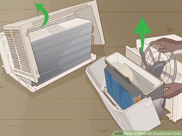 How To Clean Air Conditioner Coils 14 Steps With Pictures In 2020 Clean Air Conditioner Clean Air Air Conditioner