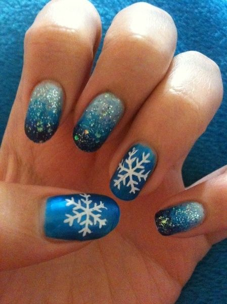 New Year Nail Design, has very variety beauties which can inspire you to  make amazing nail design. There are snowman, snowflakes. Christmas is in  winter. - 728 Best Nail Art Images On Pinterest 4th Of July Nails, Make Up