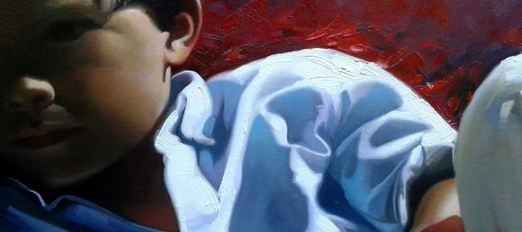 Rest by Jose Higuera. #Detail
