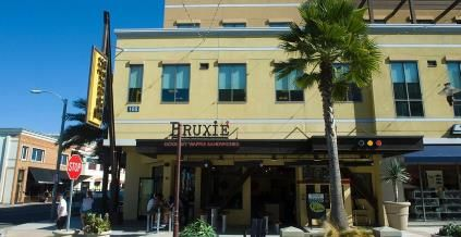 """Bruxie restaurant, Huntington Beach, Calif. Bruxie is not your typical waffle spot. With toppings like Gruyere, smoked salmon and lemon cream, the restaurant is a fresh take on Belgian-style waffles for modern taste buds. The name's a mashup of """"Brux,"""" which comes from the French spelling of Brussels,"""" and Belgie,"""" a Flemish term for Belgium.© Rod Veal/Newscom/ZUMA Press"""