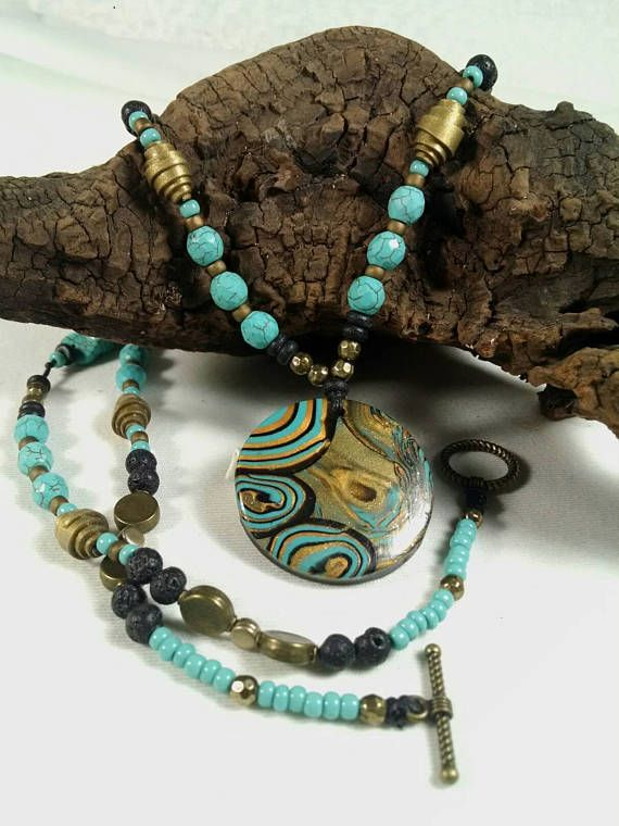 Check out this item in my Etsy shop https://www.etsy.com/listing/516527308/turquoise-necklace-long-necklace-pendant