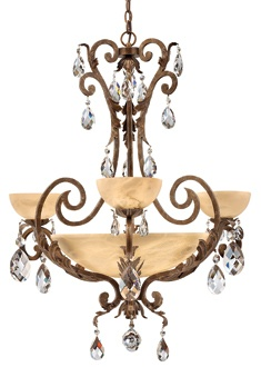 buy the fredrick ramond french marble direct shop for the fredrick ramond french marble 9 light 2 tier chandelier from the barcelona collection and save