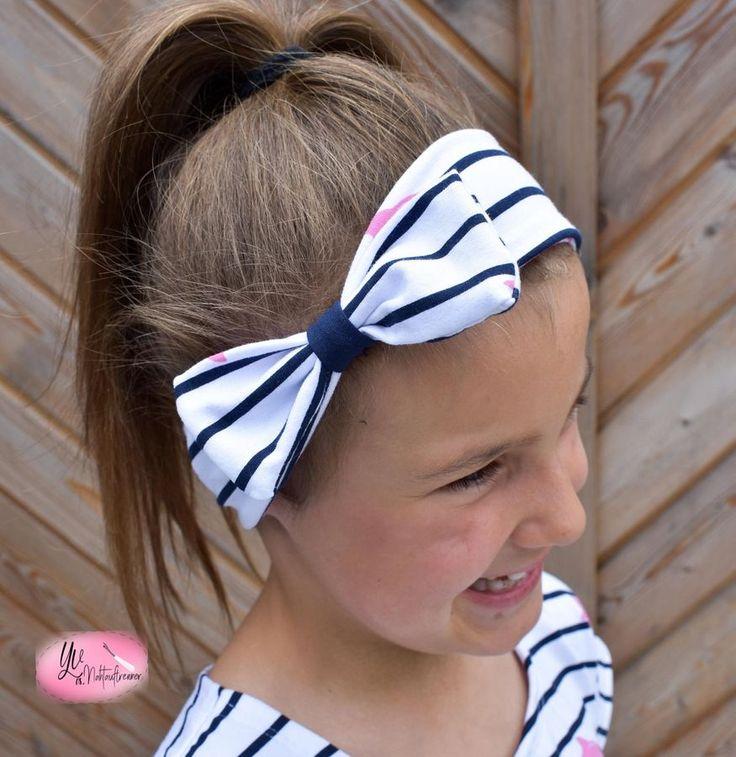 Kostenloses Schnittmuster Schleifen-Knoten-Haarband von Mamilu Design