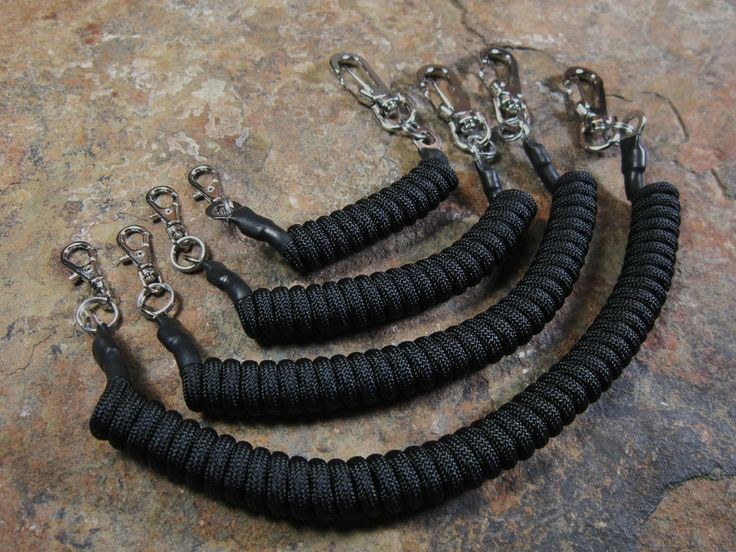 4 Paracord Lanyards -for- Maxpedition Condor Tactical Tailor Tad Gear EDC 5.11