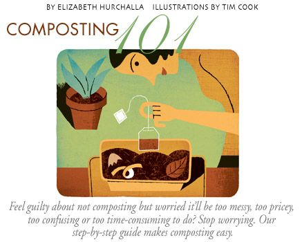 An excellent summary article on composting.
