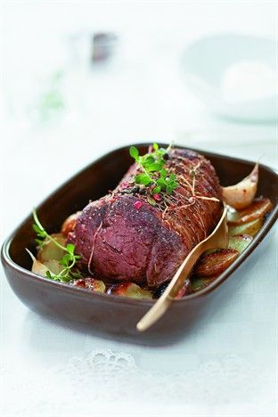 Filet de bœuf rôti au four - Larousse Cuisine