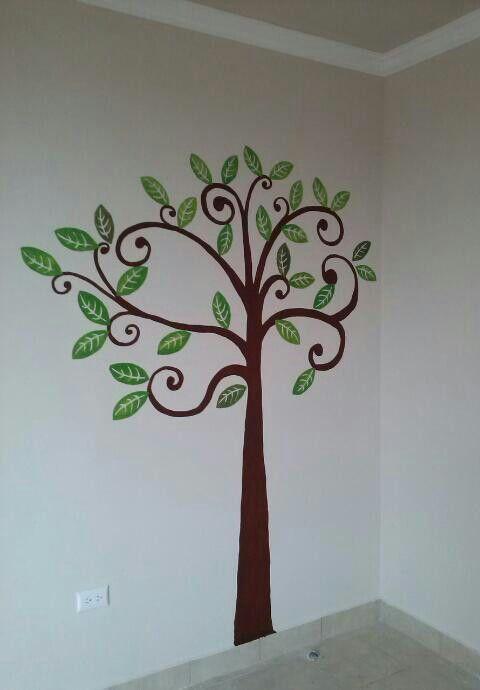 pintar un arbol en la pared - Buscar con Google