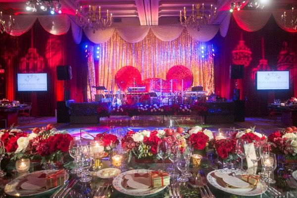 No magic trick was left unturned for the 300 guests who attended this holiday soiree. Sheeana Easton performed, an Elvis impersonator mingled with guests, and even a tasteful, three-dimensional rendering of Mickey's ears were part of the design graphics on stage.