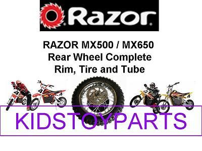 Parts and Accessories 11332: New! Electric Razor Mx650 Dirt Rocket Bike Rear Wheel Tire Assembly -> BUY IT NOW ONLY: $54.95 on eBay!