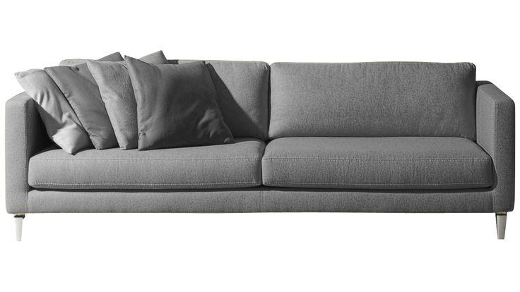 Designbank Fjola / Breedte 247 cm / Diepte 96 cm / Zithoogte 41 cm / Prijs vanaf € 1375