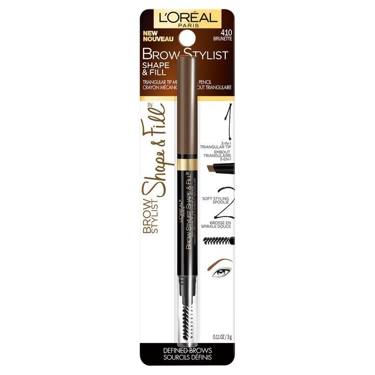 L'Oreal Paris Brow Stylist Shape & Fill 415 Brunette -0.45oz