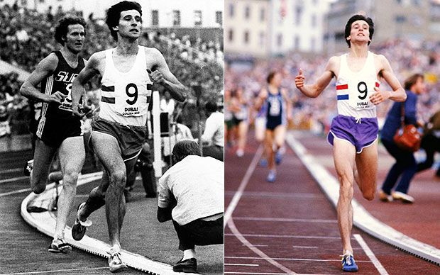 Sebastian Coe: Olympic champion 1500m, former world records 800m, 1500m and mile, chairman of organizing committee for London Olympics 2012