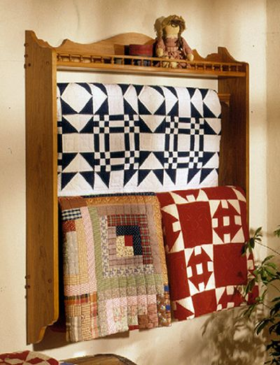 32 best Quilt Rack Plans | Quilt Hanger Plans images on Pinterest ... : portable quilt hangers - Adamdwight.com