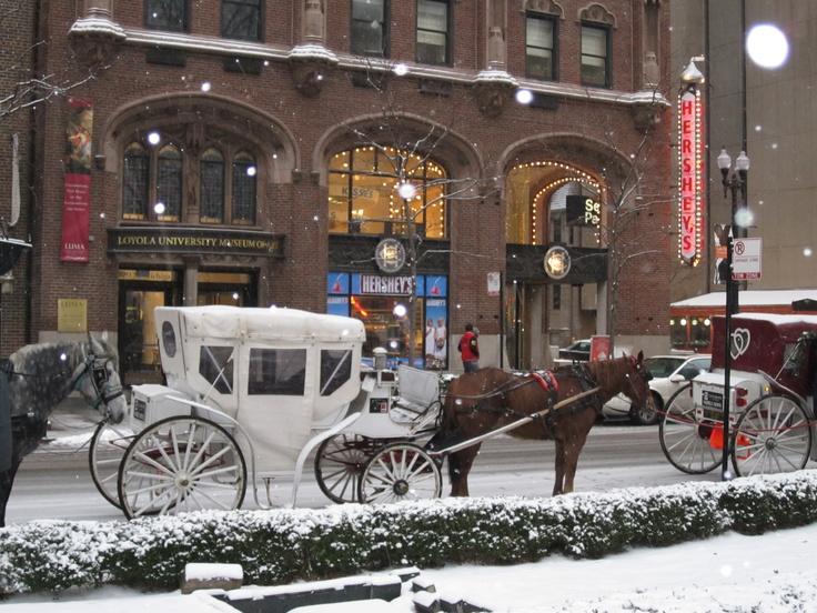 Winter in Chicago