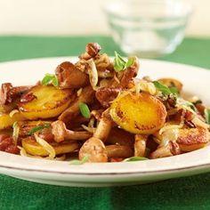 Kartoffel-Pfifferling-Pfanne