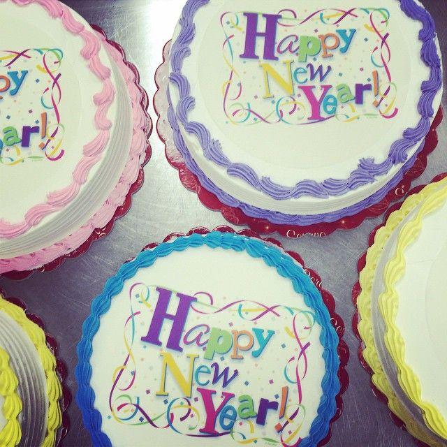 Happy New Year!!!! Time for more cakeemoji #cake #fresh #nye #nom #seranobakery #greekbakery #Toronto #bakery