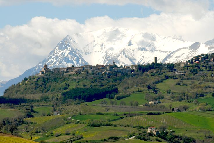 Vista Panoramica Montefalcone #marcafermana #montefalconeappennino #fermo #marche