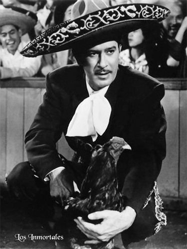 Pedro Infante Cruz (18 November 1917[1][2] – 15 April 1957), better known as Pedro Infante, was a Mexican actor and singer. Hailed as one of the greatest actors of the Golden Age of Mexican cinema, he is considered an idol of the Latin American people. He died on in Mérida, Yucatán, in a plane crash during a flight en route to Mexico City.