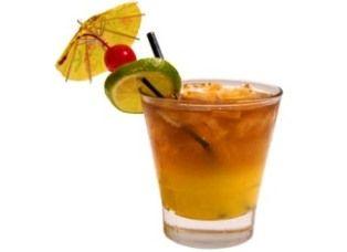 mai tai cocktail with umbrella - photo #12