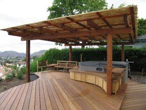 17 Best Images About Hot Tub On Pinterest Hot Tub Deck