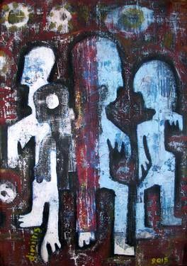 "Saatchi Art Artist dimitris p; Painting, ""active current"" #art"