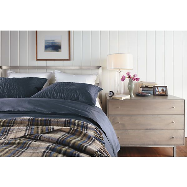 17 best images about beds on pinterest wood beds - Stainless steel bedroom furniture ...