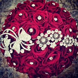 Buquê de Rosas vermelhas modelo Diamond