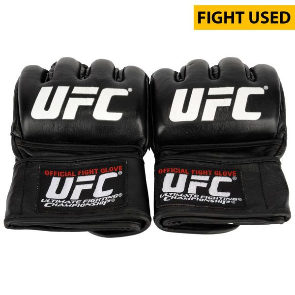 Henry Briones Ultimate Fighting Championship Fanatics Authentic UFC 189 Mendes vs. McGregor Fight-Worn Gloves - Fought Cody Garbrandt in a Bantamweight Bout - $499.99