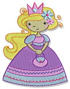Bunnycup Embroidery | My Fair Princess design set