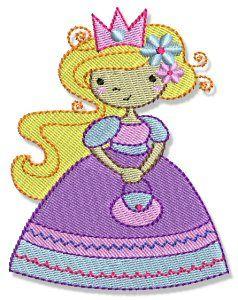 Bunnycup Embroidery   My Fair Princess design set