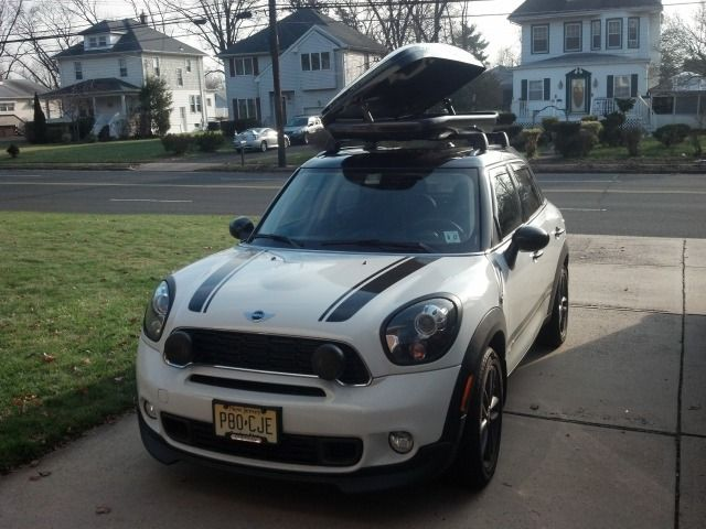 Roof Top Carrier On A Mini Countryman