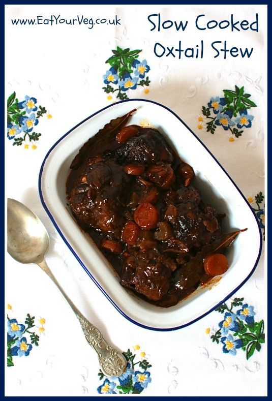 Eat Your Veg | Slow Cooked Oxtail Stew using Oxtail from online butcher Donald Russell