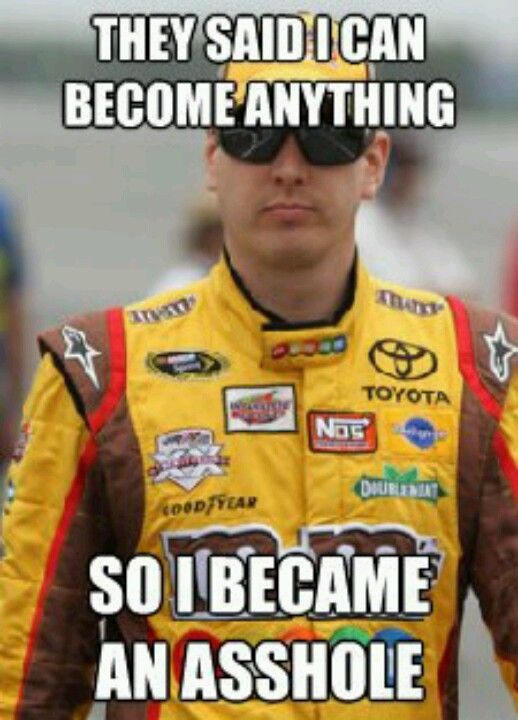 He's really matured and I like him. Tony is by far my favorite no matter what. But Kyle needs to be allowed to grow and I think he's doing quite well. He ask God to guide him now so forgive and forget . It's NASCAR MAN you got to love anyone who makes it exciting. Just my opinion , don't hate me for it.