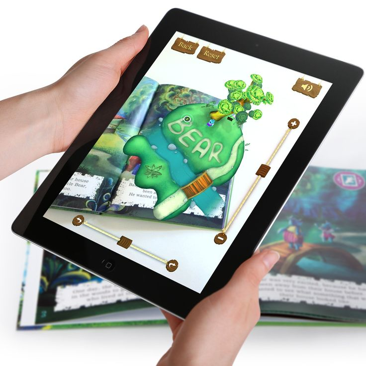 Goldilocks and the Three Bears Reimagined - Incredebooks - Connected Storybooks using Augmented Reality